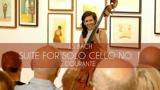 J.S. Bach - Suite for Solo Cello no. 1, Courante