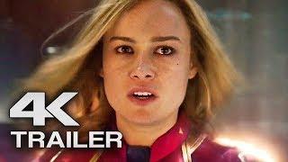CAPTAIN MARVEL Trailer 2 (4K ULTRA HD) 2019 - Brie Larson Superhero Movie
