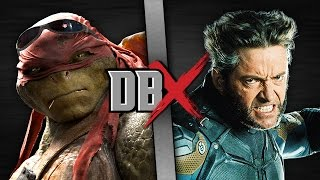 Raphael VS Wolverine (TMNT VS X-Men) | DBX