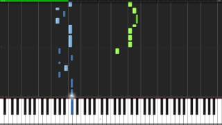 Bloody Stream - JoJo's Bizarre Adventure (Opening 2) [Piano Tutorial] (Synthesia) // Kojocrash