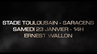 Bande-annonce : Stade Toulousain-Saracens
