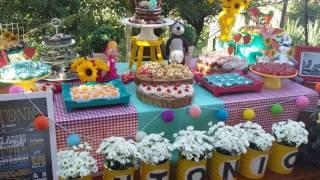 Ideias decoração festa Aniversário Masha e o urso