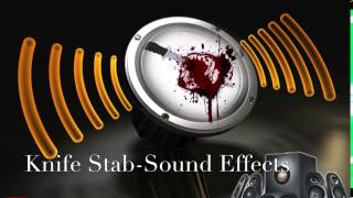 Knife Stab-Sound Effects