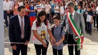 Inaugurazione scuola media San Giorgio - www.canalesicilia.it