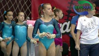 Andreea Ciurusniuc - Vault and Balance Beam | Romanian Gymnastics Championships 2017 | Full HD