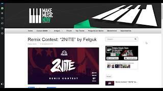 Concurso de Remix da Make Music Now