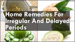 How to get rid of irregular periods naturally videos / Page