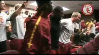 "USC Trojans Sing ""Lean On Me"" by Bill Withers"