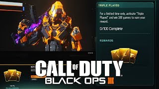 *NEW* TRIPLE PLAY CONTRACT IS BACK IN BLACK OPS 3! | 100 WIN TRIPLE PLAY CONTRACT IN BLACK OPS 3!