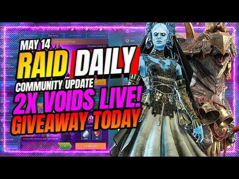 CvC FIXED?! Giveaway TODAY! Void Chain GRADED! | RAID Shadow Legends