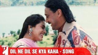 Dil Ne Dil Se Kya Kaha Song   Aaina   Jackie Shroff   Juhi Chawla   Amrita Singh