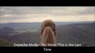 Depeche Mode ► No More (This is the Last Time) ► SPIRIT ►2017 NEW SONG (Lyrics)