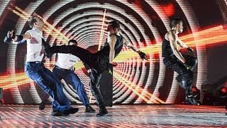 Martial arts troupe Cascade - Britain's Got Talent 2012 Live Semi Final - UK version