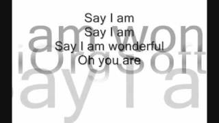 Gary Go Wonderful lyrics