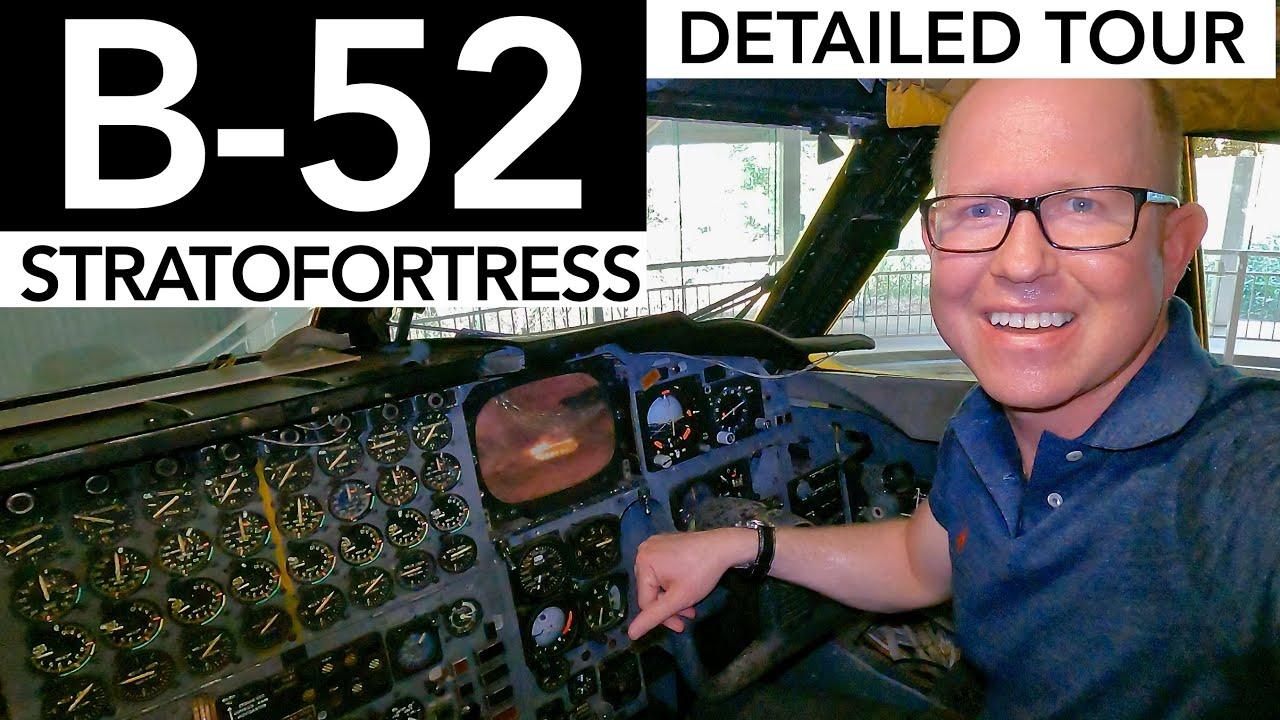 Detailed Tour through a USAF Boeing B-52 Stratofortress!!