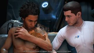 Mass Effect Andromeda Liam bound / romance with male Ryder part 2