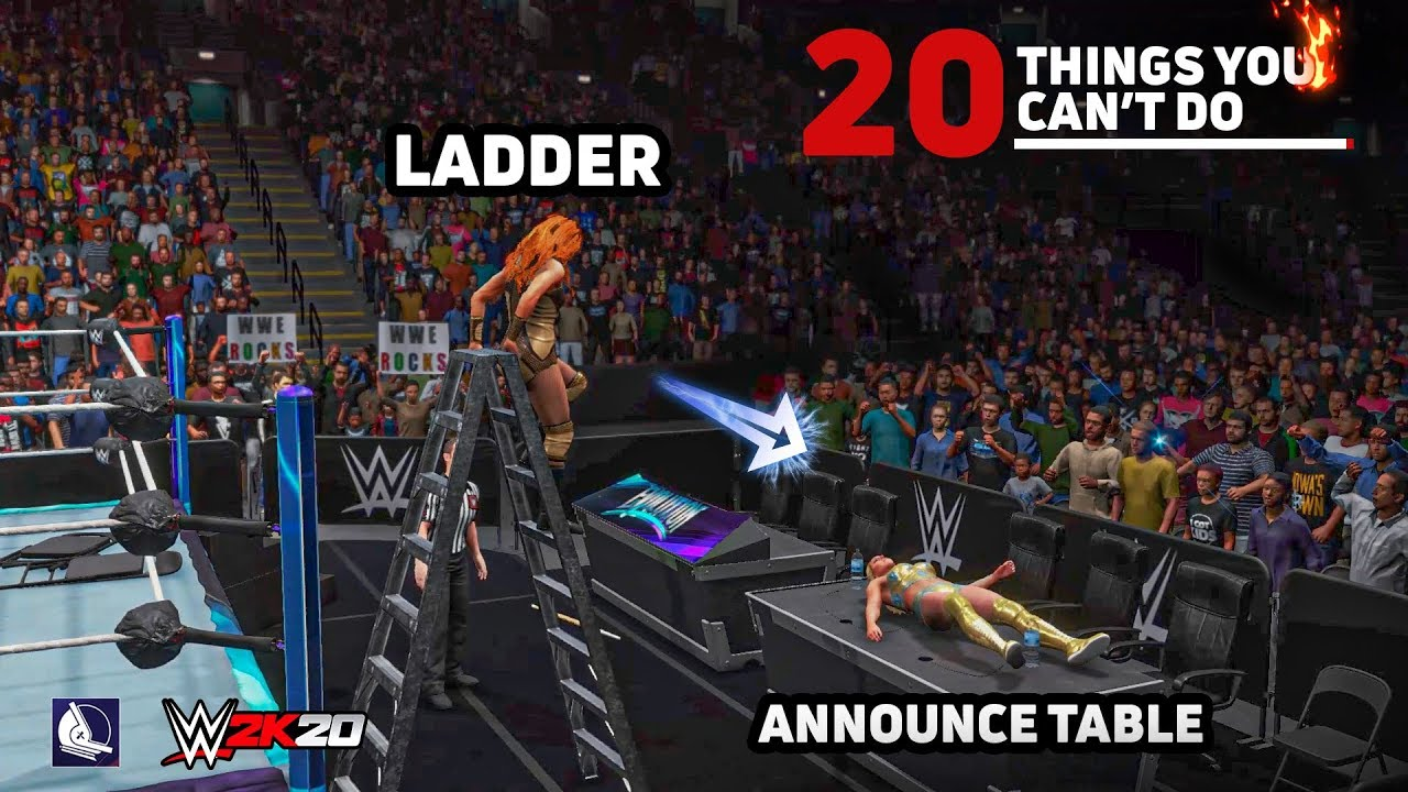 20 Amazing Things you can only do in Cutscenes (WWE 2K20)