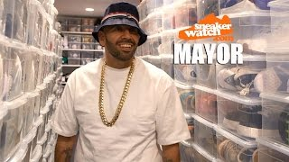 Mayor on Owning 3,000 Pairs of Kicks Worth $750k
