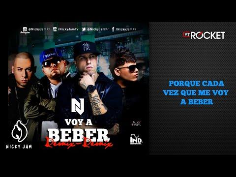 Hoy Voy A Beber Remix de Nicky Jam Letra y Video
