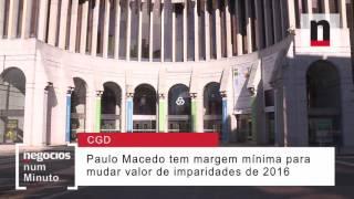 Que desafios tem Paulo Macedo à frente da Caixa