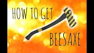 How to Get the Beesaxe/Bee Axe in Lumber Tycoon 2