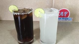 paloma y charro negro , bebidas con tequila