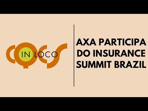 Imagem post: Axa participa do Insurance Summit Brazil
