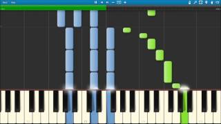 Bruno Mars when i was your man (Piano Cover) keyboard tutorial