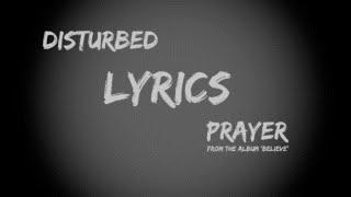'PRAYER' by Disturbed - Lyric Video (HQ + HD)