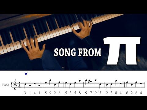 Song from π! (with Sheet Music/HQ Download) - YouTube
