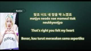 DIA - Mr. Potter with Malay | Eng | Han | Rom lyrics