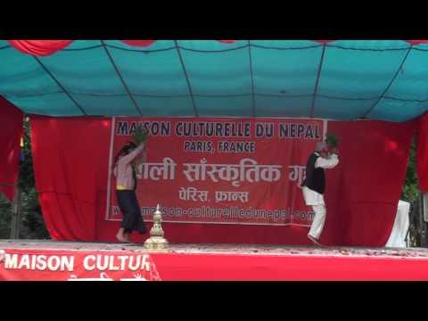 Sakela dance performed by Jainnoo and nikita