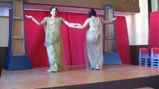 Noopur and Bhakti performing Sasural Genda phool