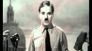The Great Dictator - Great Speech for Humanity width=
