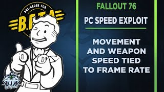 Fallout 76 Beta News on Speed Hacking Exploit: Gameplay Tied to Frame Rate