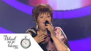Zorica Nedeljkovic - Ne dam dusu da grese - (live) - Nikad nije kasno - EM 36 - 28.06.16.