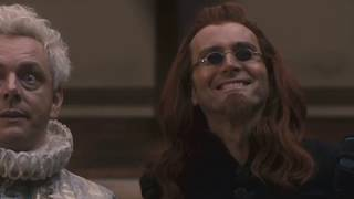 Crowley being amused by/teasing Aziraphale for 3 minutes straight    Good Omens