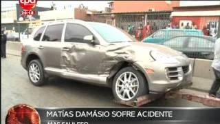 Jornal Nacional - Matias Damasio Acidente I