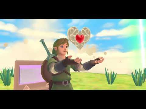 WTFF::: The Legend of Zelda: Skyward Sword HD - Loftwing flight footage