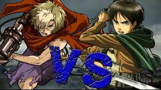 IKOMA VS EREN    Koutetsujou no kabaneri vs Shingeki no kyojin    DarckStar (Prod.LozioRaps)