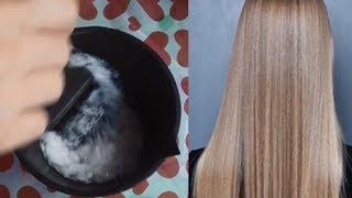 Desmaia cabelo na hora ➜ O melhor alisamento natural com apenas 2 produtos, hidratação profunda