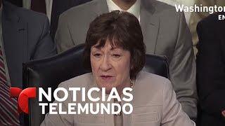 Comey admite que mostró memos fuera del gobierno | Noticias | Noticias Telemundo