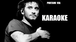Fabrizio Moro - Portami via - Karaoke Sanremo 2017