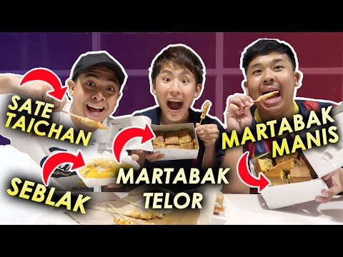 Download Video TOMO COBAIN STREET FOOD INDONESIA! (MARTABAK, SEBLAK, DLL)