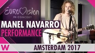 "Manel Navarro ""Drunk In Love"" cover LIVE @ Eurovision in Concert 2017 Welcome Party"