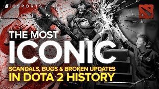 The Most ICONIC Scandals, Bugs & Broken Updates in Dota 2 History