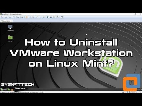 Linux Mint'ten VMware Kaldırma
