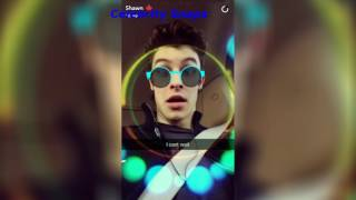 Shawn Mendes Snapchat Stories January 5th 2017 | Celebrity Snaps