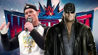 """Word Life"" John Cena v ""American Badass"" Undertaker Wrestlemania 33 Entrances - WWE2K17"