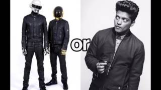 Bruno Mars Feat Daft Punk - Chunky (Oficcial Remix)